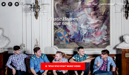 Plastic Heaven by This Is Willow webdesign